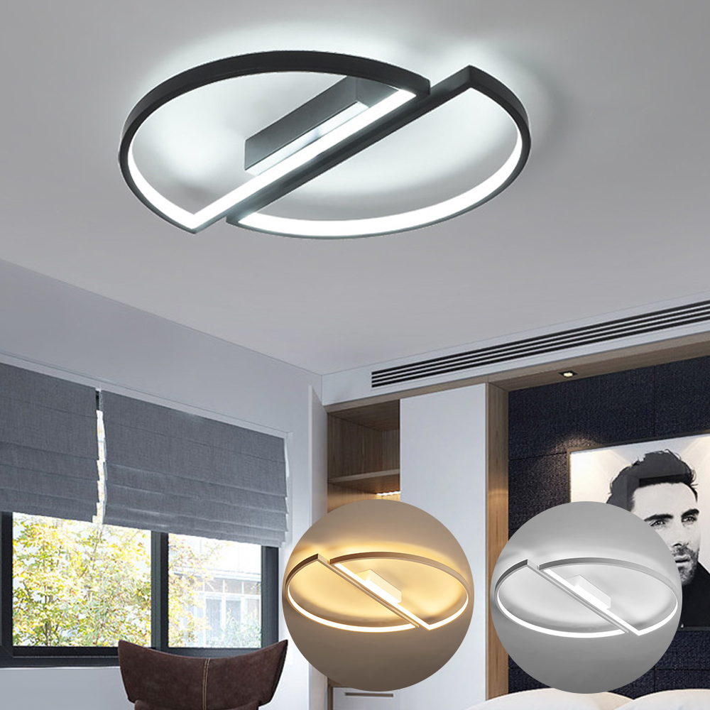 Modern LED Ceiling Light Half Round Circle Ceiling Lamp for Living Room Dining Bedroom Kitchen Decoration Light LED Ceiling Lamp