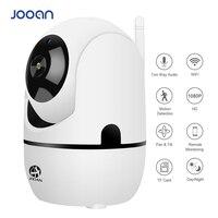 Беспроводная ip-камера 720P 1080 P, интеллектуальное автоматическое отслеживание ИК ночного Радионяня, хорошо работает с приложением IPC360, мини-к...