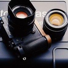 Идеально подходит для Fuji Fujifilm X-T3 XT3 X-T2 XT2 грецкий орех ручной работы деревянная рукоятка держатель быстросъемный L Пластина вертикальный кронштейн