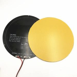 Image 2 - 3mm อลูมิเนียม 240 มม.hotbed 4 มม.Ultrabase สร้างพื้นผิวจานแก้วสำหรับ DIY ANYCUBIC รอก/Linear PLUS kossel 3D เครื่องพิมพ์