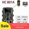HC801A 801LTE Jagd Trail Kamera Nacht Version Kameras 16MP 1080P IP65 Foto Falle 0,3 s Trigger Wildlife Kamera Überwachung