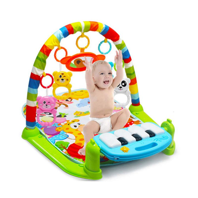 Baby Play Mat Baby Carpet Music Puzzle Mat With Piano Keyboard Rug For Kids Infant Fitness Mat Crawling Mat Gift For Kids