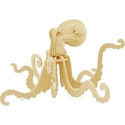 Robotime 3D Octopus Wooden Puzzle JP265