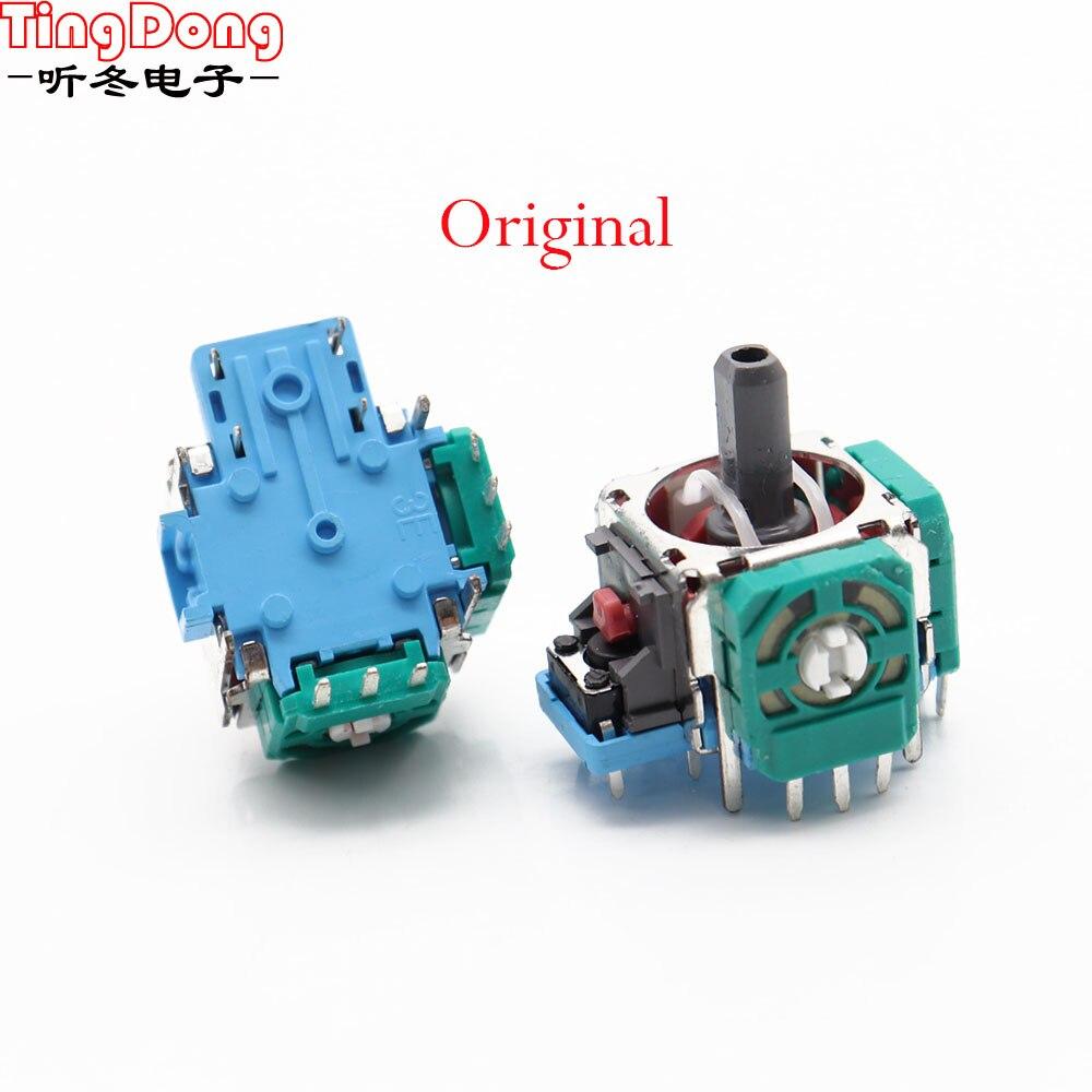 Оригинальный 3D Аналоговый сенсор 2 шт./лот, 3D аналоговая ось, 3D потенциометр джойстика для контроллера PS4