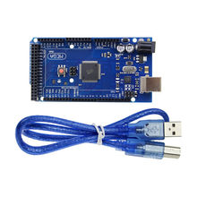 Стандартная плата mega 2560 r3 mega2560 rev3 с usb кабелем для