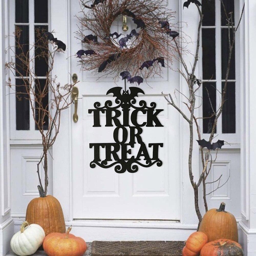Hot Sale The Witch Is In Halloween Hanging Sign Door Hanging