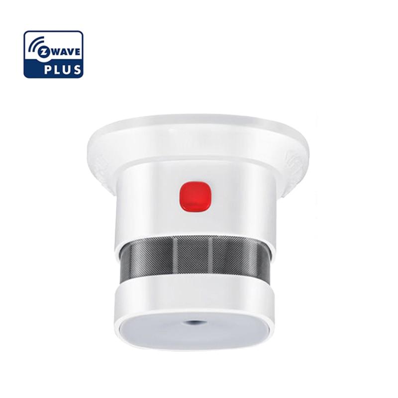 Детектор дыма Haozee Zwave, система для умного дома, 868 МГц, высокочувствительный датчик дыма Z wave