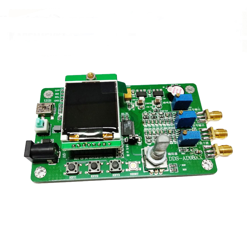 Image 5 - AD9850 module DDS function signal generator Send program Compatible with 9851 Sweep Function TFT color LCD Function demo board-in Demo Board Accessories from Computer & Office
