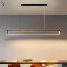Modern LED Pendant Lights for Dining Room Office Kitchen Home Hanging Light Chandelier Industrial Indoor Fixtures Remote Dimming