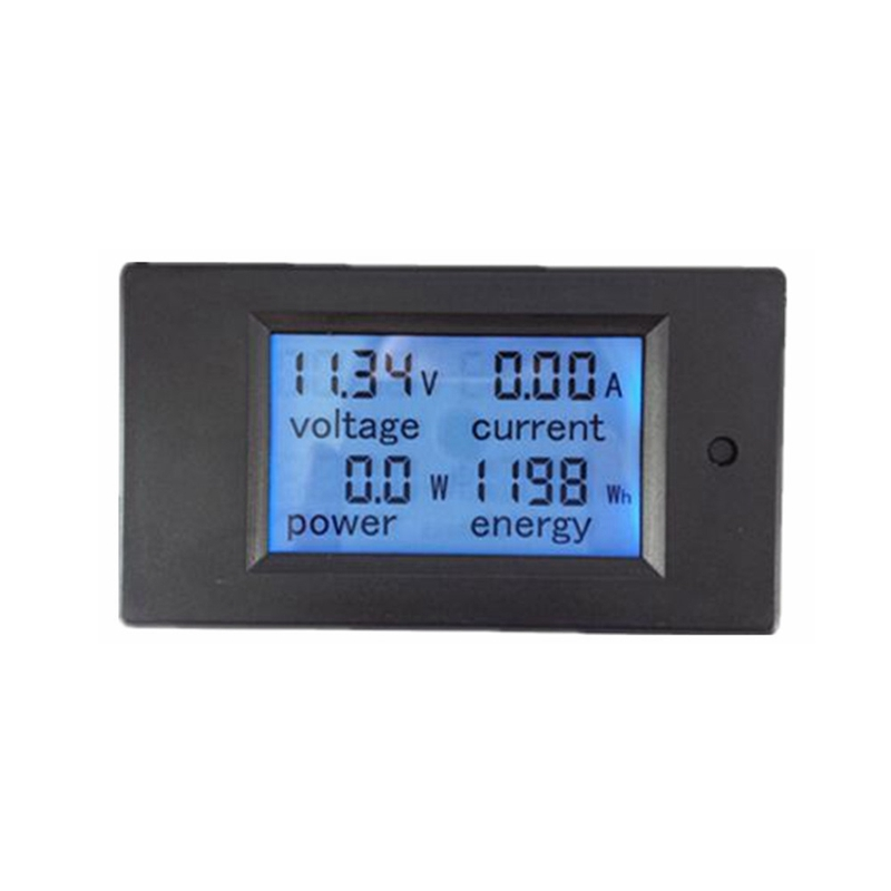 GYTB Digital Lcd Dc Voltmeter Dc 6.5-100V/100A Power Energy Meters Ammeter Current Voltage Tester Watt Volt Monitor with 100A