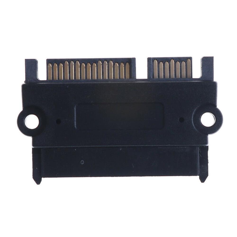 E-yield 90 Degree Right Angled SATA 22Pin 7+15 Male To SFF-8482 SAS 22 Pin Female Extension Convertor Adapter For Hard Disk Dri