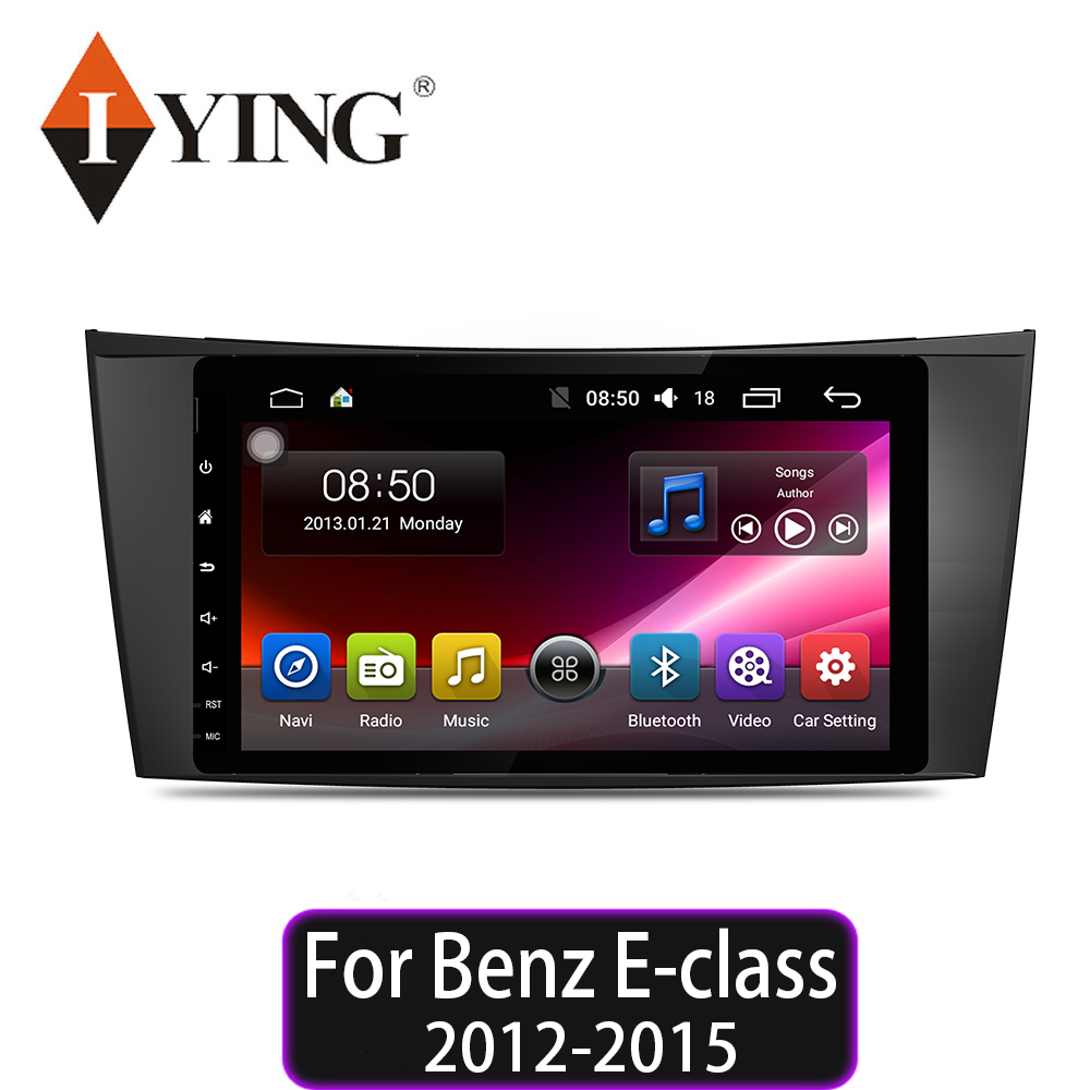 IYING 8 core Car Multimedia video Player For <font><b>Benz</b></font> E-class E200 E220 E300 <font><b>E350</b></font> E240 E270 E280 W211 W219 Car Player Android 9 image