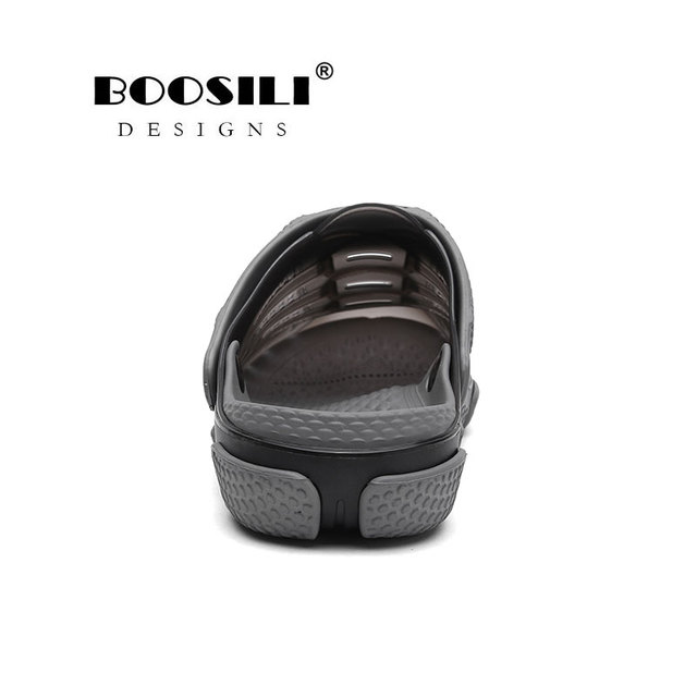 2019 Brand Duty-free Big Size 45 Lover Clogs 3 Colors Croc Shoes Men's Band Sandals Summer Beach Water Swimming Mens Clogs