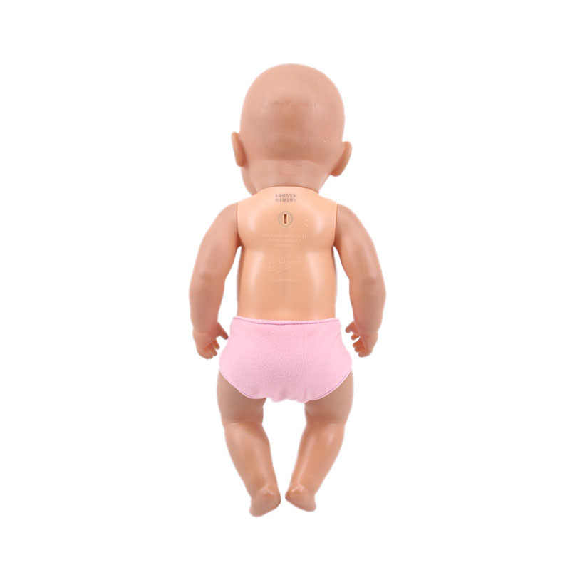 أفخم الجلد المدبوغ سراويل داخلية ملابس دمى صالح 18 بوصة الأمريكية و 43 سنتيمتر ولد الطفل دمية ، الفتاة اللعب ، جيلنا ، هدية