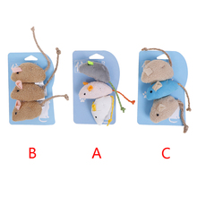 Mice Toys Cat-Toy Mouse Cat Pet-Catnip Fun for 3pcs/Lot Mix