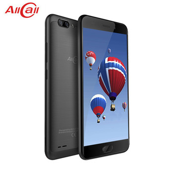 AllCall Atom 4G LTE Smartphone 5.2'' HD 2.5D Curved Screen Dual Rear Cam Android 7.0 MTK6737 Quad Core 2GB 16GB 8MP Mobile Phone