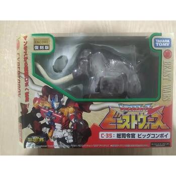 TAKARA TOMY TRANSFORMERS Slammoth LG EX C-35 Limited Edition Big Convoy Optimal Prime Beast Robot Action Figure Collection 2