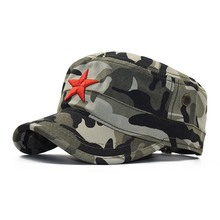 Hat Military-Hats Navy Cap Flat-Top-Hat Us Marines Camouflage USA Cotton Corps United-States