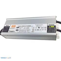 320 Вт Meanwell Светодиодный HLG-320H-C1400B с регулируемой яркостью постоянного тока водонепроницаемый источник питания для 6 шт. Cree COB CXB3590 светодиодны...