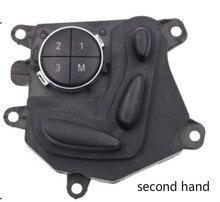 Oryginalne używane z drugiej ręki dla Mercedes Benz W211 E300 E320 E350 E200 E240 E260 regulacja siedziska przycisk przełącznika W219 CLS