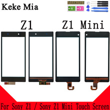 Keke Mia For Sony Xperia Z1 L39 L39H C6902 C6903 Mini Compact D5503 Touch Screen Glass Panel Digitizer Sensor Touchpad