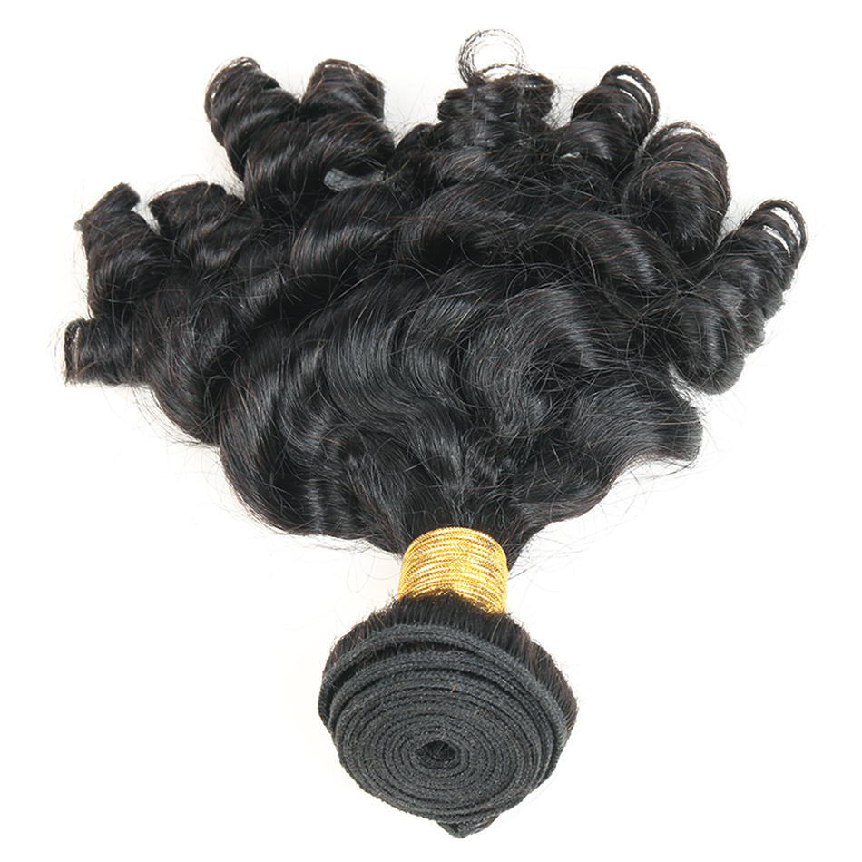bouncy  curly human hair bundles 2