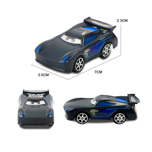 Image 5 - 7pcs/set Disney Pixar Car 3 Jackson Storm McQueen Lightning Cruz Mack Uncle 1:55 Diecast Truck Model Car Toys for Kids Christmas