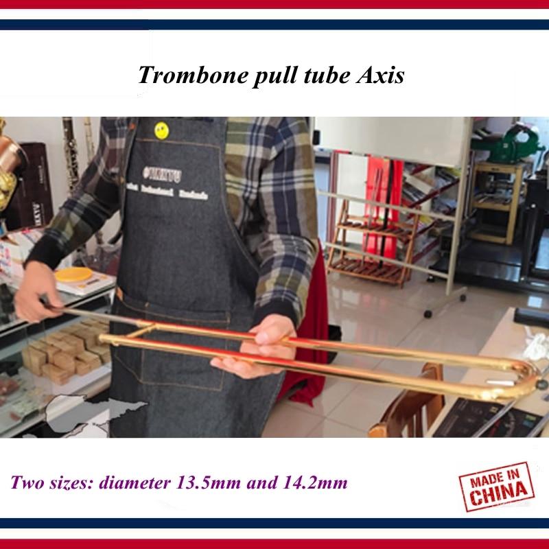 Wind Instrument Repair Tools Slide Trombone Dent Deformation Sheet Metal Repair Tool Trombone Pull Tube Core Gold