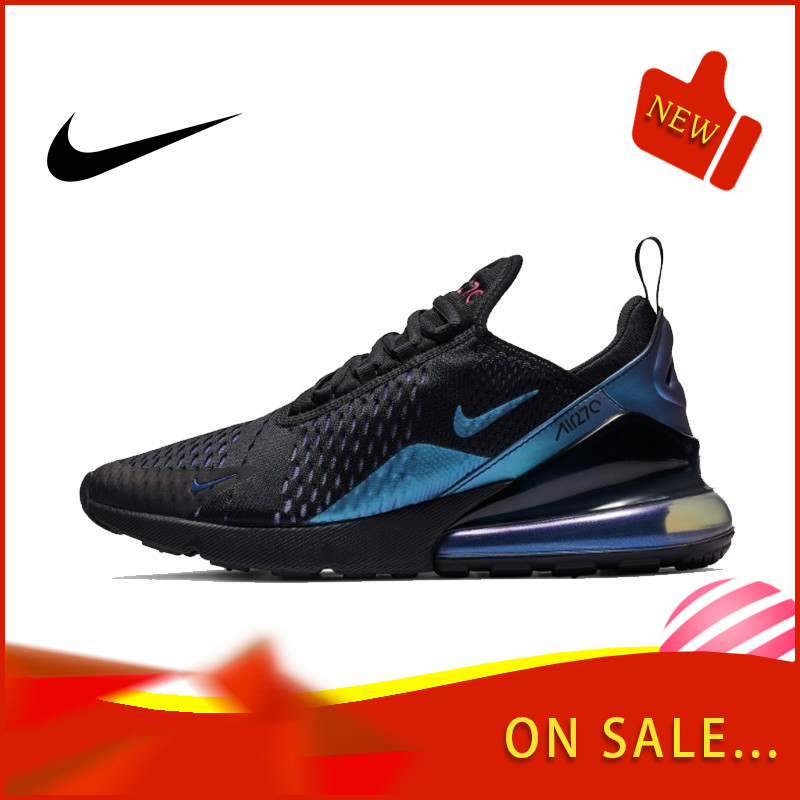 Original Authentic Nike Air Max 270 Men's Running Shoes Breathable Outdoor Sports Shoes Comfortable And Good Quality AH8050-020