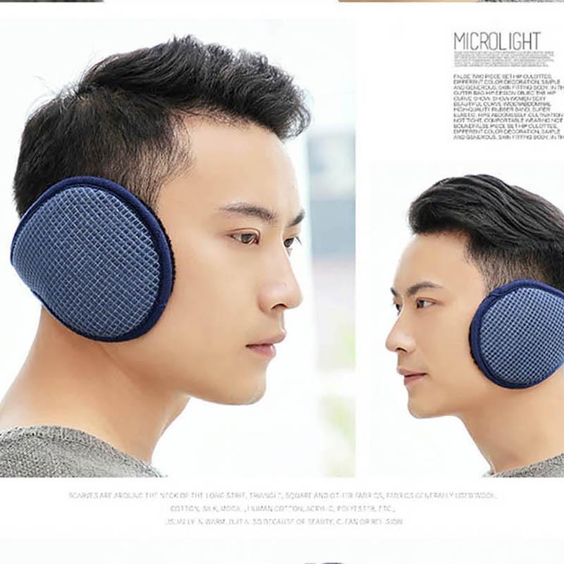 Calymel Winter Unisex Men And Women Fleece Warmer Earmuff Warm Plush Cloth Ear Muffs Cover Earwarmers Ear Muffs Earlap Warmer