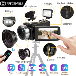 Video Camcorder Affordable Handycam 30MP Touch Screen 16 x Streaming For Youbute Photography Video Digital Recorder Cam