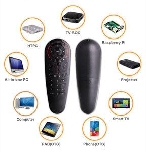 Image 5 - HUACP G30 Air mouse 33 клавиши ИК обучения гироскопа Google голосовой поиск 2,4G Fly Air mouse универсальный пульт дистанционного управления для Smart tv Box