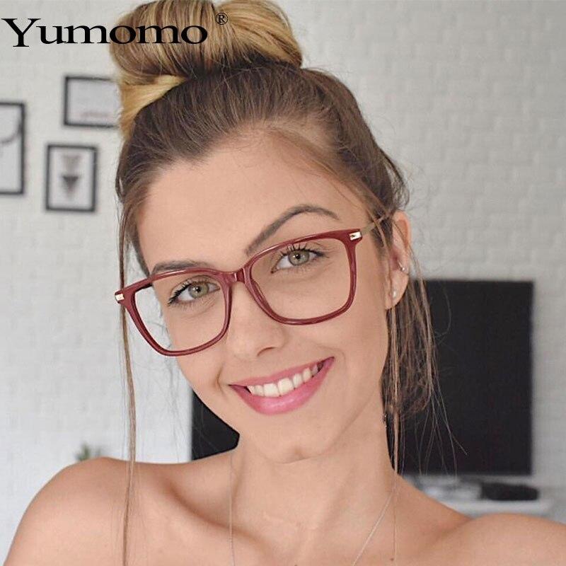 Women Square Frame Eyeglasses Blue Light Blocking Glasses Anti Blue Radiation Lens Women Mens Retro Black Blue Tan Shades