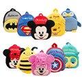 Disney плюшевый рюкзак  милый рюкзак  сумка с Микки Маусом  рюкзак с Минни  детские подарки  для путешествий  сумка для детского сада с мультипли...