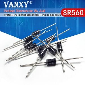 20PCS SR560 60V 5A SB560 DO-15 schottky diode
