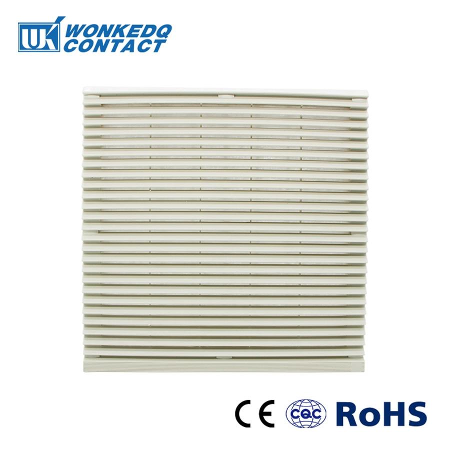 Cabinet  Ventilation Filter Set Shutters Cover  Fan Grille Louvers Blower Exhaust Fan Filter FK-3326-300 Filter Without Fan