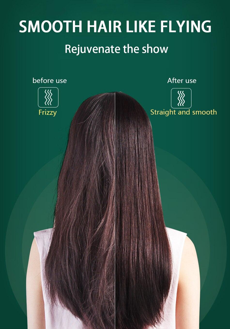 Multifuncional profissional alisador de cabelo turmalina cerâmica