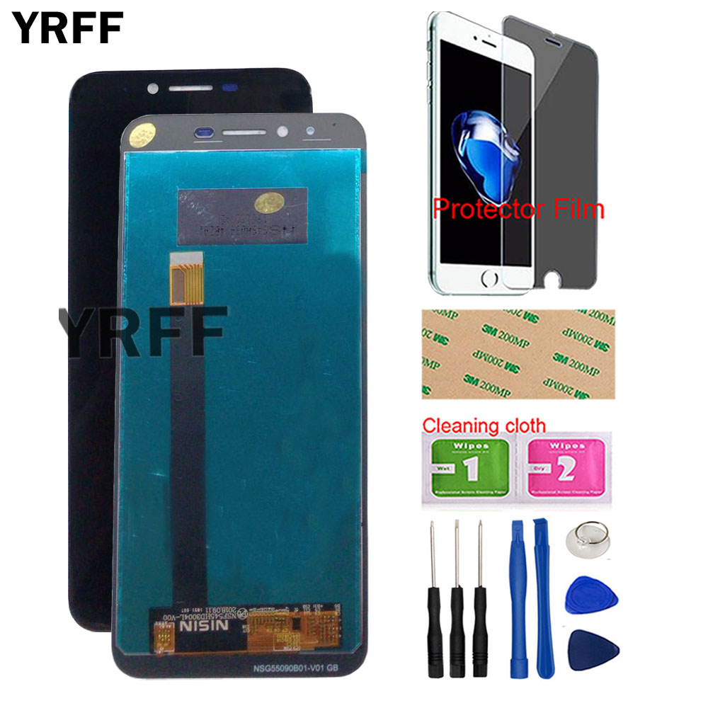 5.5'' LCD Display For HOMTOM S99 LCD Display Touch Screen Digitizer 100% Original LCD Touch Digitizer Tools Protector Film(China)