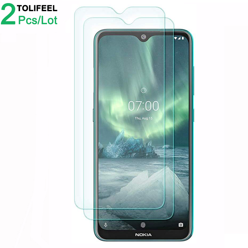 3PCS TOLIFEEL 2.5D 9H Tempered Glass For <font><b>Nokia</b></font> <font><b>7.2</b></font> <font><b>Screen</b></font> <font><b>Protector</b></font> Transparent Protective Film For <font><b>Nokia</b></font> <font><b>7.2</b></font> Glass image
