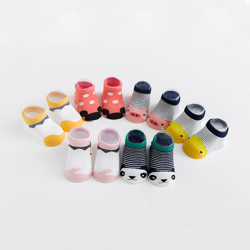 Nan Tong House Baby Socks Spring And Autumn Dispensing Anti-slip Floor Socks Newborn Babies' Socks Short No-show Socks Gift Box