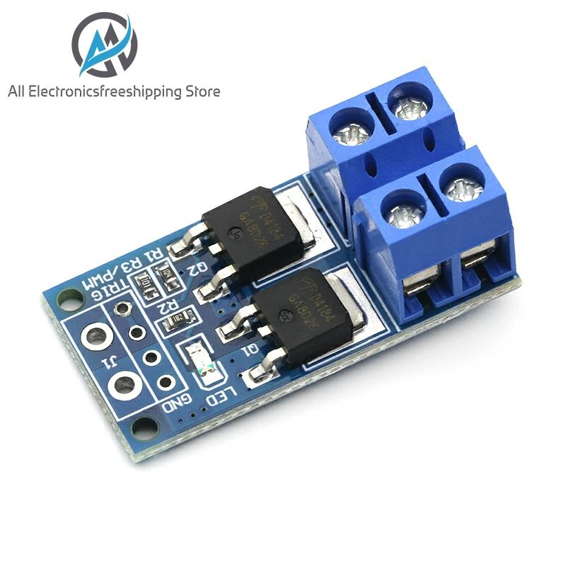 15A 400W MOS FET Trigger Switch Drive Module PWM Regulator Control Panel