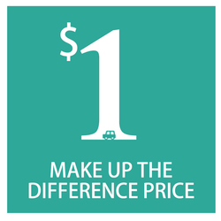compensate the price difference/compensation for price difference/Price-matching /differential compensation