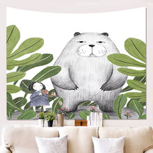 Animal tapestry Wall Hanging tapestry Wall art Large Lion Tapestry Fabric decorative blanket Beach Towel 200x150 cm цена 2017