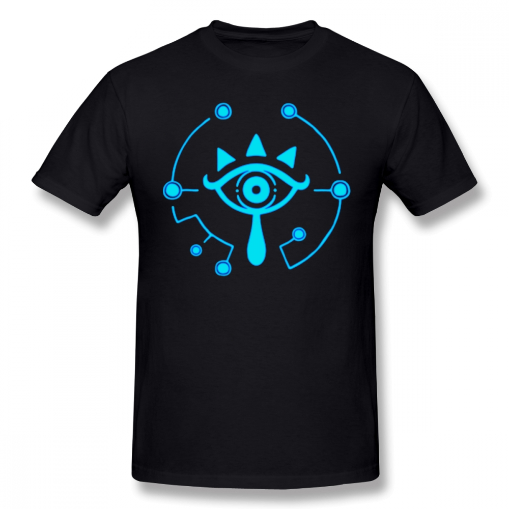 Zelda Breath Of The Wild T Shirt Sheikah Slate Legend Of Zelda Breath Of The Wild T-Shirt Printed Funny Tee Shirt Tshirt