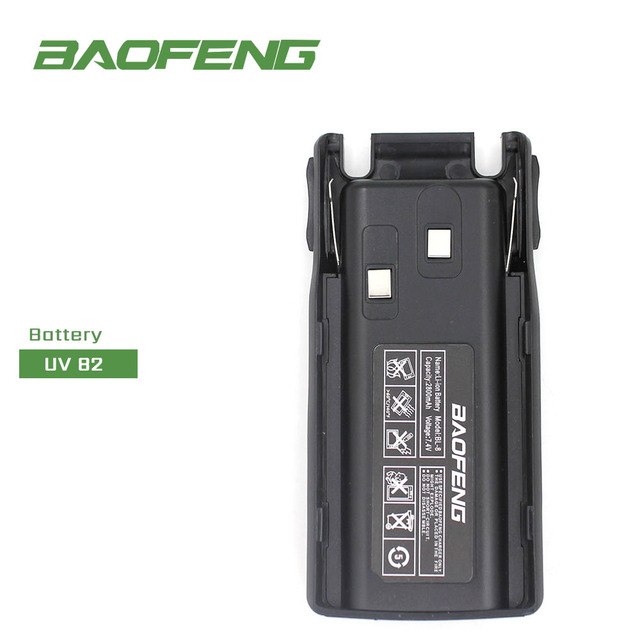 Baofeng Walkie Talkie Accessories BL 8 Battery for Baofeng UV 82 2800mAh Battery for UV82 Two Way Radio