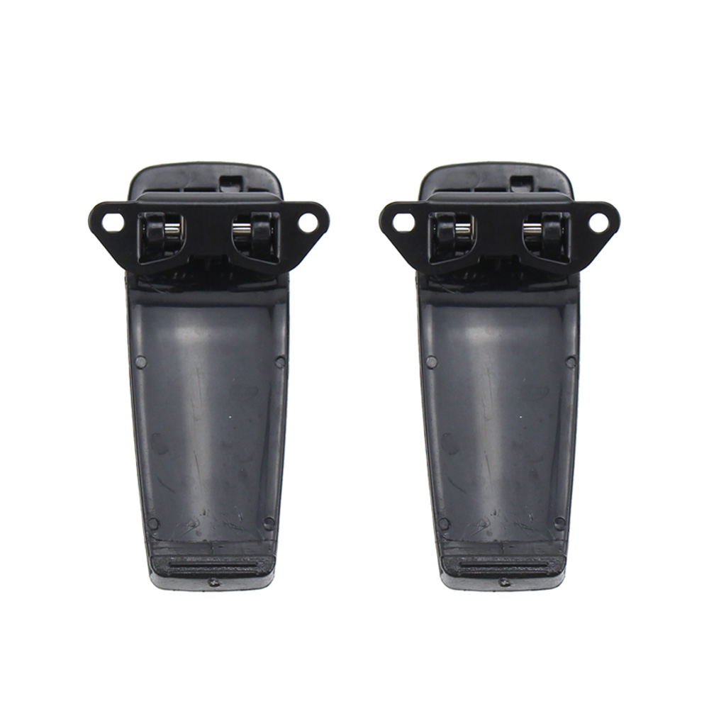 2X Walkie Talkie Belt Clip For ICOM IC-A24 IC-A24E IC-A24 IC-A24E IC-F11 IC-F11BR