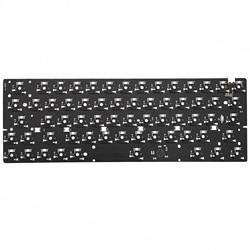 Bm60rgb Bm60 60% RGB Gh60 Hot Swappable Custom Keyboard Mekanik PCB Diprogram Qmk Firmware Penuh Bat Underglow Tipe C