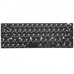 bm60rgb bm60 rgb 60% gh60 hot swappable Custom Mechanical Keyboard PCB programmed qmk firmware full rgb switch underglow type c