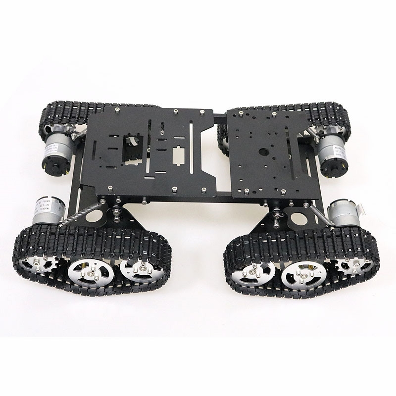 4pcs 12V 350RPM Arduino Robot Kit Motors With Remote Control And Aluminum Alloy Material