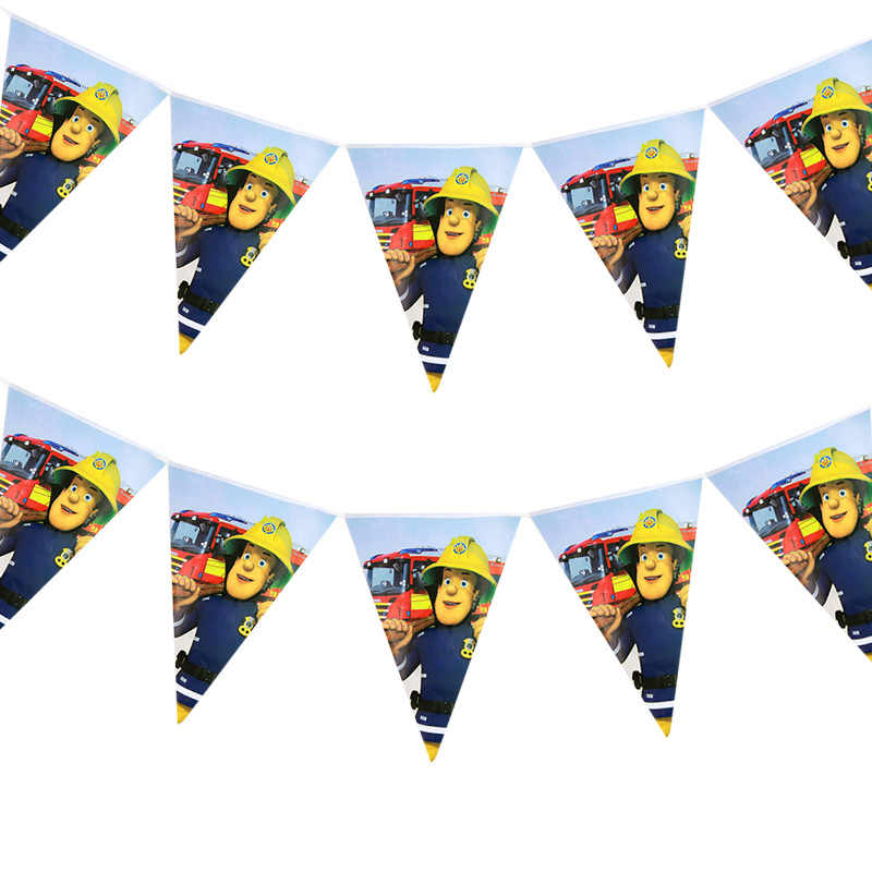 פיירמן סם נושא חצוצרות פיירמן סם מסיבת יום הולדת קישוטי פיירמן סם נושא כלים חד פעמים המפלגה דקור